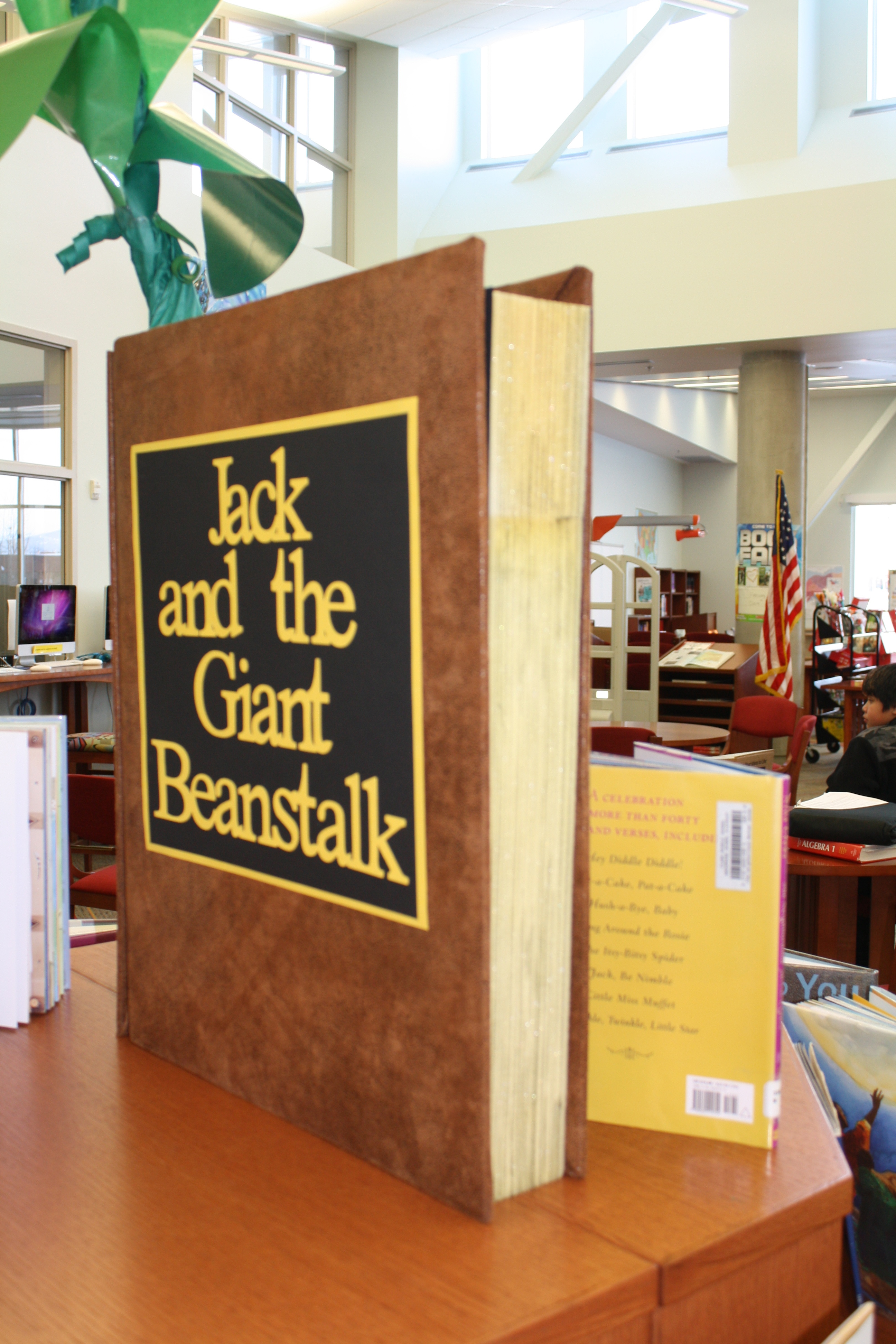 A Tall Tale School Library Displays