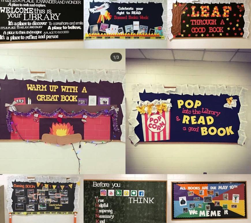 School Library Displays Hooking Kids On Books